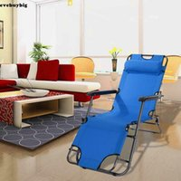 Ausziehbare Folding Gravity Reclining Liegestühle Strand Camping Reise Yard Außenpatio Stuhl Lehnstuhl Tragbare Dual-Chaises Blau