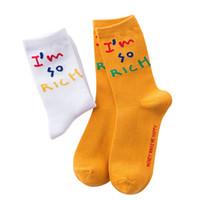 5 pares unisex meias street harajuku skate hip hop homens mulheres meias combinam simples engraçado engraçado palavras palavras maré meias meias sox