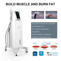 Musclesculpt Building Body hit shaping Muscle stimulate slimming machine with electromagnetic sculpting system for beauty salon