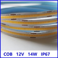 2021 Easter Retail and wholesale COB flexible led strip 12v 24v 300led IP67 with competitive price