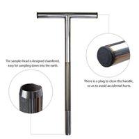 Party Favor Edelstahl Boden Sampler Sonde 21 Zoll Test Kits Sampling Tube Golf Course Wartung Werkzeuge