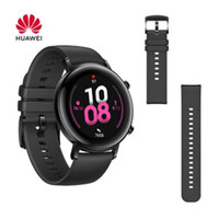 GT 2 HUAWEI WATCH 4 Go Phantom Black Viton Bracelet 5ATM Canal LTN-B19 Kirin A1 verre Long Life Smart Battery Sport Modes 3D