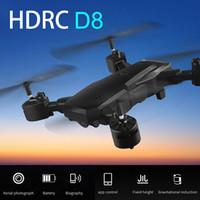 HDRC D8 Складная WIFI 1080P Четыре оси Drone камеры HD Quadcopter 20 минут Продолжительность полета 6,6 4K WIFI 1шт