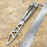 3 renk BRS Alfa Beast AB sandviç Titanyum Kol D2 Bıçak Kelebek Trainer Bıçak Burç Sistemi Pocket Bıçaklar Adker serbest sallanan