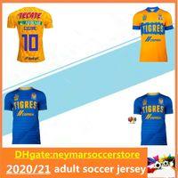 2020 2021 Tigres UANL Soccer Jersey 20 21 Mexico Club 7 نجوم Gignac Vargas Sosa Mailleot De Football Shirt Offe