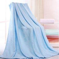 담요 대나무 섬유 타월 이불 퀼트 아기 키즈 침대 소파에 대 한 성인 여름 차가운 편안한 던지기 담요 덮개 bedspreads