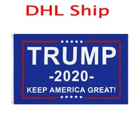 DHL Shipping 11 designs 3x5 Ft 90*150 cm keep america great donald Trump Flag For 2020 President USA