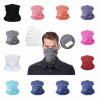 Cycling Masks Magic Scarf Bandanas Multifunctional Breathable Headband Turban Fitness Supplies Adult Sports Riding Face Masks CYZ2651