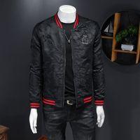 Primavera O revestimento dos homens e no Outono 2020 nova juventude bordados bonito todo-match tendência jaqueta de marca casuais coreano