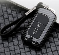 Автомобиль Carbon Fiber ключа Обложка чехол для Mitsubishi Outlander Lancer Pajero Sport ASX RVR L200 2/3 Кнопка Smart Key