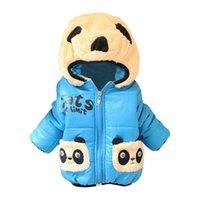 New Childrenwear OuterWear Algodón Invierno Abrigos con capucha Chaqueta de invierno Abrigo Niños Invierno Invierno Ropa Ropa gruesa Down Parkas