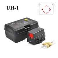 UH1 الأحمر النقطة البصر النطاق رد الفعل البصر المجسم البصر الصيد مع رسوم USB ل 20 ملليمتر جبل