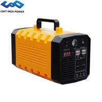 Generatore solare UPP 500W Litio 333Wh 12V 31Ah centrale elettrica portatile di emergenza / esterna / di campeggio ricaricabile Inverter alimentazione