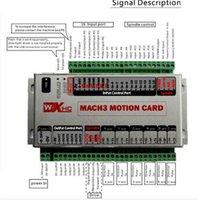 6 Achse Mach3 USB 400KHz CNC Bewegungssteuerkarte A B C X Y Z Achse Ausbruch-Brett