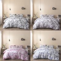 2020 Marmor Muster Bettwäsche-Sets Heißer Verkauf Duvet-Abdeckung Set 3 stücke Bett Anzüge Quilt Cover Bettwäsche
