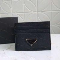 vera pelle 2020 titolari nuova carta dell'uomo di modo Card Holders donna di credito del raccoglitore della carta Classic di alta qualità simper mini portafogli con box