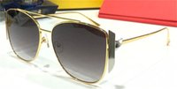 Nuovo disegno di modo occhiali da sole 0379GS quadrato in metallo ultra stile popolare piena luce cornice di alta qualità best-seller di occhiali di protezione UV400