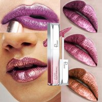 18 colori Pearlescent Diamante Lip Gloss idratante Future Serie stellata Glitter Lip Gloss Rossetto