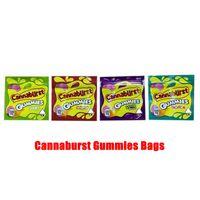 4 Türleri 500mg CannAvst Ambalaj Torbaları Boş Yenilebilir GummMies Paket Çanta Koku Geçirir Kapanabilir Fermuar Kılıfı Paketleri Candy Mylar Baggies