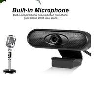 HD Webcam 480p 720p 1080p USB Camera Camera rotativa Gravação de Vídeo Web com microfone para PC Computer + caixa de varejo