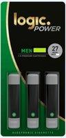 Лучшие продавец логика Power Refill 3xpremium Cartridges 20boines / Lot Logic Eig Бесплатная доставка по DHL на рынок США