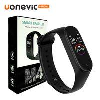 M4 Smart Band Fitness Tracker Спорт Браслет Сердечный рисунок Артериальный давление Водонепроницаемый монитор Сердечности MI 4 Band с розничной упаковкой