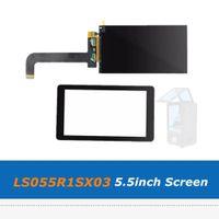 LS055R1SX03 5.5inch 2K Screen Display LCD Rimosso pannello LCD retroilluminato Con Vetro Pellicola per stampante HDMII Wanhao D7 3D