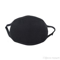 24 hours ship Anti-Dust Dust Protective Cotton Mouth Face Mask Unisex Man Woman Cycling Caps & Wearing Black Fashion