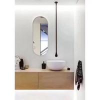 Gota de água de latão pendurar teto taucet parede montado banheiro mixer torneira torneira fosco preto cromo ouro escovado