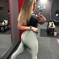 Kadın Pantolon En Yeni Fitness Yoga Seksi Kalça Kadın Tayt Boyutu 2020 Sonbahar Moda Ter Pantolon: S-3XL