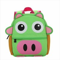 2021 новый дизайн мода 3d ребенок малыш детский сад милые сумки дошкольника мультфильм книга животное прекрасный школа нейлон рюкзаки iwbcq