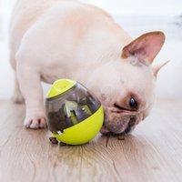 Toys Pet Dog Fun Tumbler Puppy Toy Feeding Supplies Interactive Food IQ Bite Ball Game Bowl Pets Leakage Dog Tools Fwabs