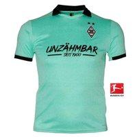 2020 2021 Mönchengladbach casa lejos Jersey 20 21 # 10 # 14 THURAM A.PLEA camiseta de fútbol 2019 Ventas uniforme blanco de fútbol VFL Borussia Fútbol