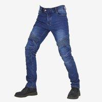 Motorcycle Apparel Men's Calças Casuais Moto Calças Motocross Anti-Queda Biker Jeans Equipamento para homens