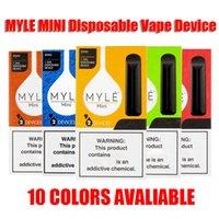 MYLE 미니 일회용 Vape 장치 펜 포드 스타터 키트 280mah 배터리 320 퍼프 1ml의 용량 카트리지 패키지 2 개 / 팩