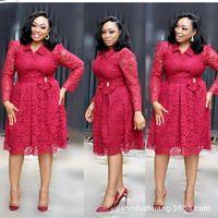 Outono Inverno 2020 AFRICANO SENHORA ROUPA áfrica rendas vestidos de mulheres senhoras roupa vestir venda africaine Longo robe vestido
