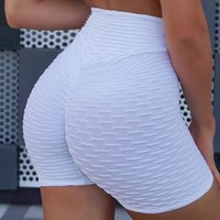 8nDK1 fitness jacquard hip Summer beauty solid color three- p...