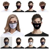 Linda Tik Tok Máscara 2020 Moda de seda del hielo a prueba de polvo lavable Máscara Soporte Tik Tok Uso anti Haze Máscaras diseñador de la máscara T2I51313