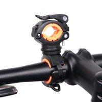 Luz de bicicletas soporte de la lámpara LED de la antorcha bicicleta titular de la bomba Faro soporte de montaje rápido de lanzamiento de 360 grados giratoria
