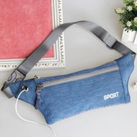 Unisex Waist Packs Travel Handy Hiking Sport Running Bum Bag Fanny Pack Waist Belt Zip Pouch