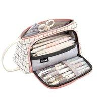 Casseaux de crayon Super Case Kawaii Grand Capacité Pencarcase School Fournitures Sac Box Crayons Papeterie