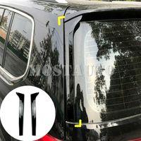 Для Volkswagen VW Touran 2X заднего стекла Спойлер боковой крыла Обрезка Обложка 2016-2019 гг