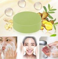 수제 생강 비누 얼굴 청소 화이트닝 모이스처 라이저 허브 클렌저