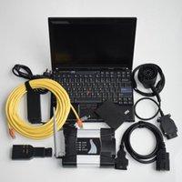 Nouveau WIFI pour l'ICOM suivant avec un ordinateur portable X201 480GB SSD Logiciel 3in1 outil de programmation de diagnostic