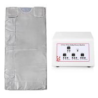 3 Zona Abeto Sauna Inflared Cobertor Cobertor Cobertor Térmico Apratus Infravermelho Aquecimento Aquecimento Blanket Perda de peso Bag Ray Heat