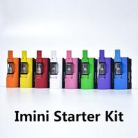 Authentic Immini Box Mod Starter Kit 500mAh Espessura Bateria Vaporizador de Óleo com 0.5ml 1.0ml Libery V1 Cartucho 100% Original
