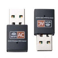 600Mbps USB WiFi adaptador Dual Band 2.4G / 5GHz RTL8811CU WIFI WIFI DONGLE MINI LAN 600M adaptadores Wi-Fi 802.11ac Receptor Ethernet MQ60