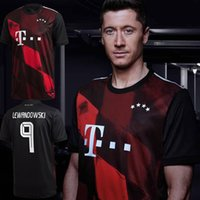 CL version 2021 Munich third soccer jersey #9 LEWANDOWSKI #2...