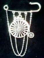 Мода Vintage Mediaeval Велосипед брошь Велосипед для женщин кисточки Броши Pin Boho фраке Аксессуары Jewelry Brithday Фестиваль подарков