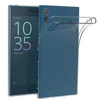 Мягкий прозрачный корпус TPU для Sony XA1 PLUS / XZ Perium / XZ1 / XZ1 Compact / M5 / Z5 / XA Ultra / Xperia X / Sonyxperia XA1